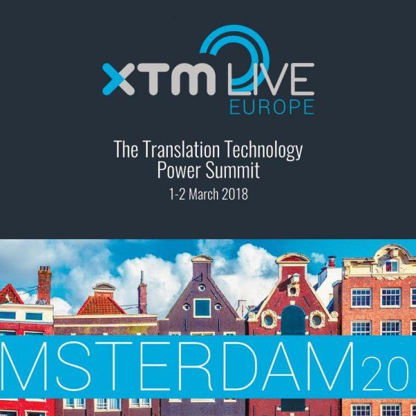 Untranslate presenting at XTM Live