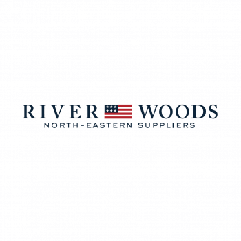 River Woods logo
