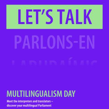 Affiche Dag van de Meertaligheid